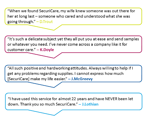 Securi Care Testimonials 2 Our Team Page