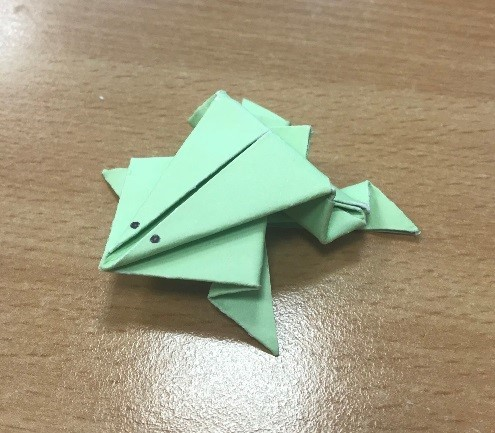 An Origami Frog
