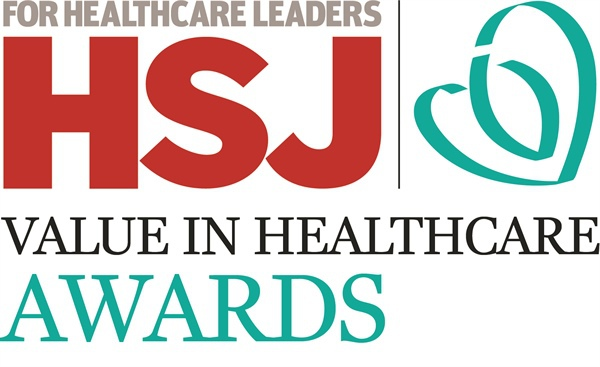 HSJ Value in Healthcare Awards Logo