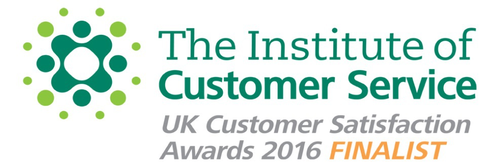 The Institute of Customer Service - UK Customer Satisfaction Awards 2016 Finalist logo